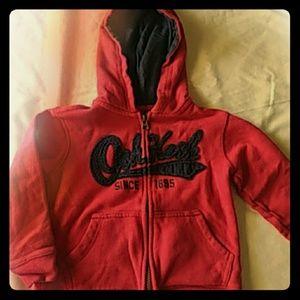 Boys 4T Oshkosh Sweatshirt with matching pants